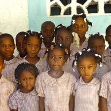 Haitin children