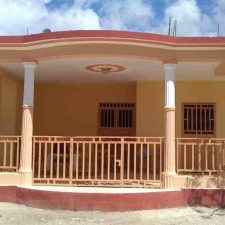 Newly Painted Education/Rectory Building