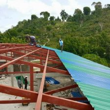 New Roof at St. Lawrence Chapel